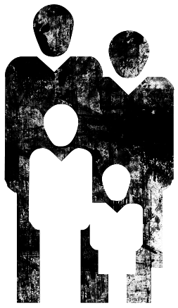 Graphic of family of 4