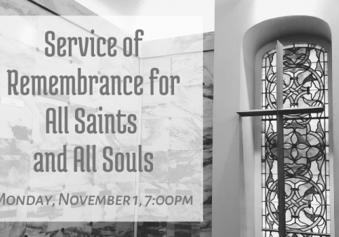 Copy of Service of Remembrance for All Saints and All Souls